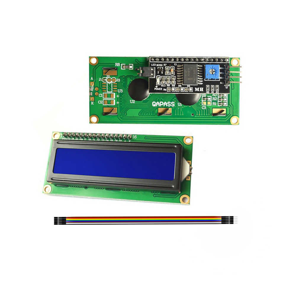White on Blue 1602 Serial LCD Module Display for Arduino Uno R3 Mega 2560 16x2