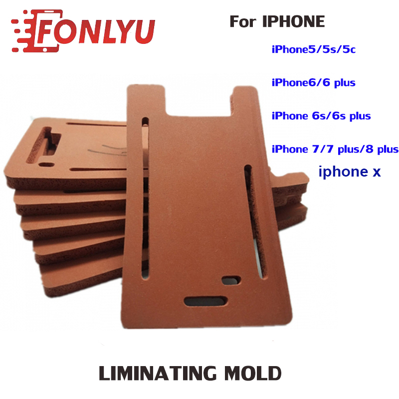 1pc-Rubber-Mold-Glass-LCD-OCA-Screen-Laminating-Mould-Pad-With-Frame-Space-For-iPhone-5