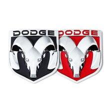 3d ram cabeça emblema para dodge caliber ram 1500 caravana carregador grand caravan viagem traseira do carro adesivos crachá estilo do carro