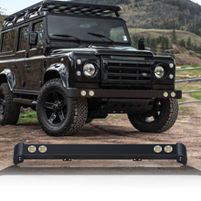 4x4 Accessories Front Bumper with led lights for Land rover Defender 90 110 bull bar Accessories Original Type Bumper