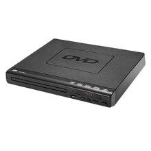 ポータブルdvdプレーヤーテレビサポートusbポートコンパクトマルチリージョンdvd/svcd/cd/ディスクプレーヤーリモート制御、ないサポートhd