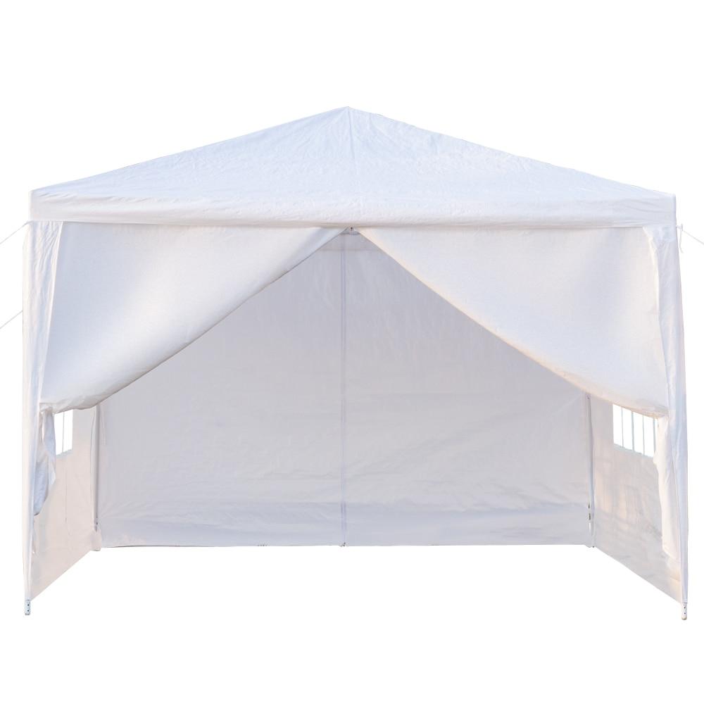 3x3 m quatro lados tenda festa de casamento tenda portátil casa jardim tenda gazebo tenda à prova dskuágua para eventos sku51280911 - 2