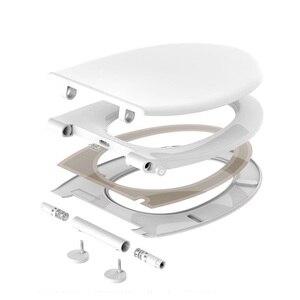 Оригинальное умное нагревательное электрическое сиденье для унитаза NTC система контроля температуры ночной Светильник