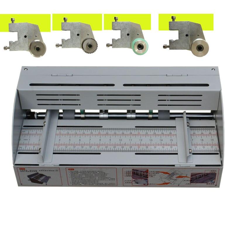 A3 חשמלי מכונת 460MM ספר כיסוי קיפול חיתוך וקמטים גזירת חשמלי מכונת