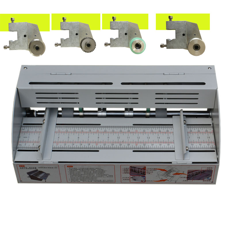 A3 Electric Paper Creasing Machine 460MM Book Cover Creasing Cutting And Creasing Creaser Electric Paper Creasing Machine