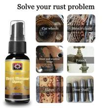 30ml Rust Remover Auto Car Inhibitor Wheel Hub Screw Maintenance Derusting Spray Car Cleaning Tool Car Accessories TSLM1(China)