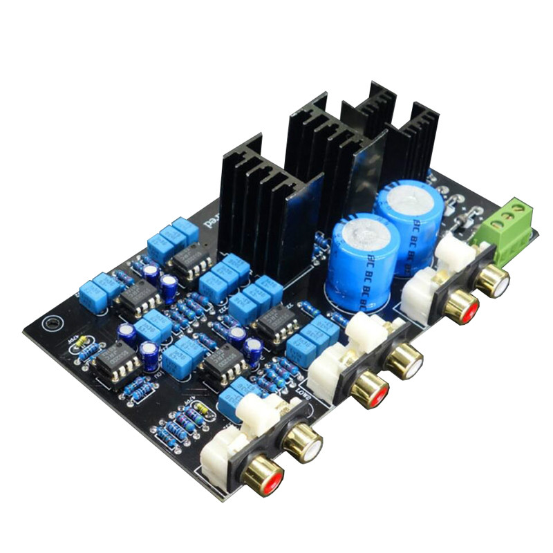 Linkwitz-Riley Circuit DSP Board  2 Range 2 Way Speaker Active Frequency Divider Crossover  Adjustable/Customized A8-014
