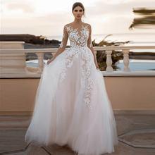 Элегантное сексуальное свадебное платье с коротким рукавом и