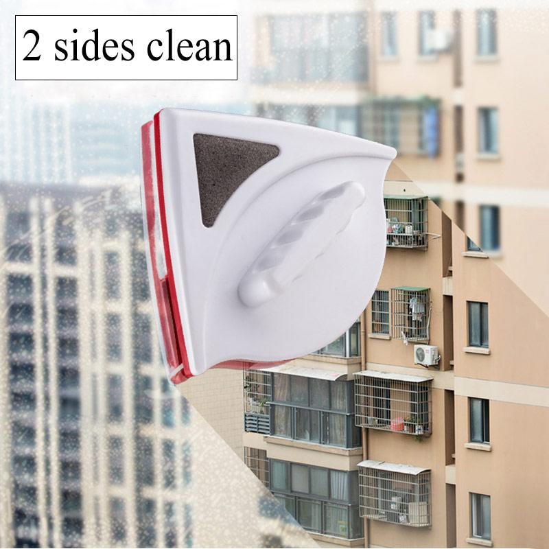 Home Window Glass Safe Cleaner Double Sided Magnetic Clean Tool Magnets Brush Office Wiper Surface Cleaning Tools Thick Glass