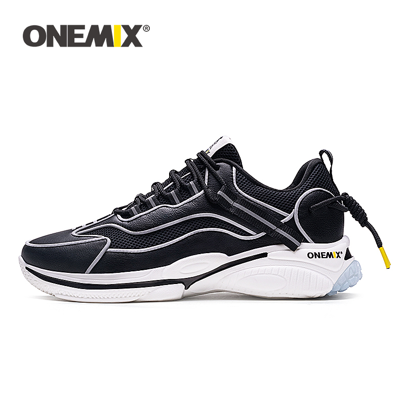 ONEMIX 2020 Men Sneakers Running Shoes for Women Sewing Thread Outdoor Fashion Breathable Womens Boosts Sports Walking Sneaker