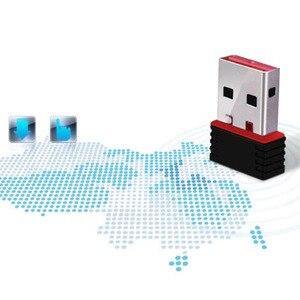 Image 5 - ミニ 150 150mbps ドングルネットワークカード無線 Lan アダプタ LAN Usb の Wi Fi ワイヤレスネットワークカード PC の USB 受信機