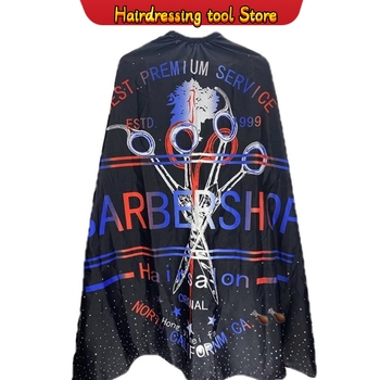 140*160cm New Waterproof Hairdressing Barber Cloth Hairdresser Apron Hair Cutting Gown Kids&Adult Cape Pro Salon Styling Tool - discount item  49% OFF Hair Care & Styling
