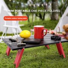 Table-Furniture Folding Camping-Tent Aluminum-Alloy Outdoor Computer-Desk Barbecue Mini