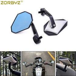 ZORBYZ мотоциклетное черное CNC алюминиевое рулевое боковое зеркало заднего вида 10 мм болт для FB Global Aprilia CR150