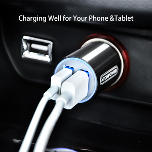 Image 5 - NTONPOWER 2 Port USB Car Charger Qualcomm Quick Charge 3.0 QC 2.0 Compatible and Type C 3A Fast Charging for Smart Mobile Phone