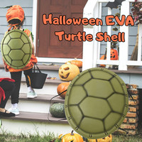 3t group Children Halloween Christmas Costume Props Ninja Turtle Shell Simulation Turtle Shell Props Tortoise Shell