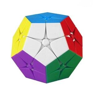 Cheapest Mega 2x2x2 Wumofang Magic Cube Speed Puzzle cubo magico Mage--minx Cube Master Kilominx Cubo Magico 2x2 Puzzle Toys