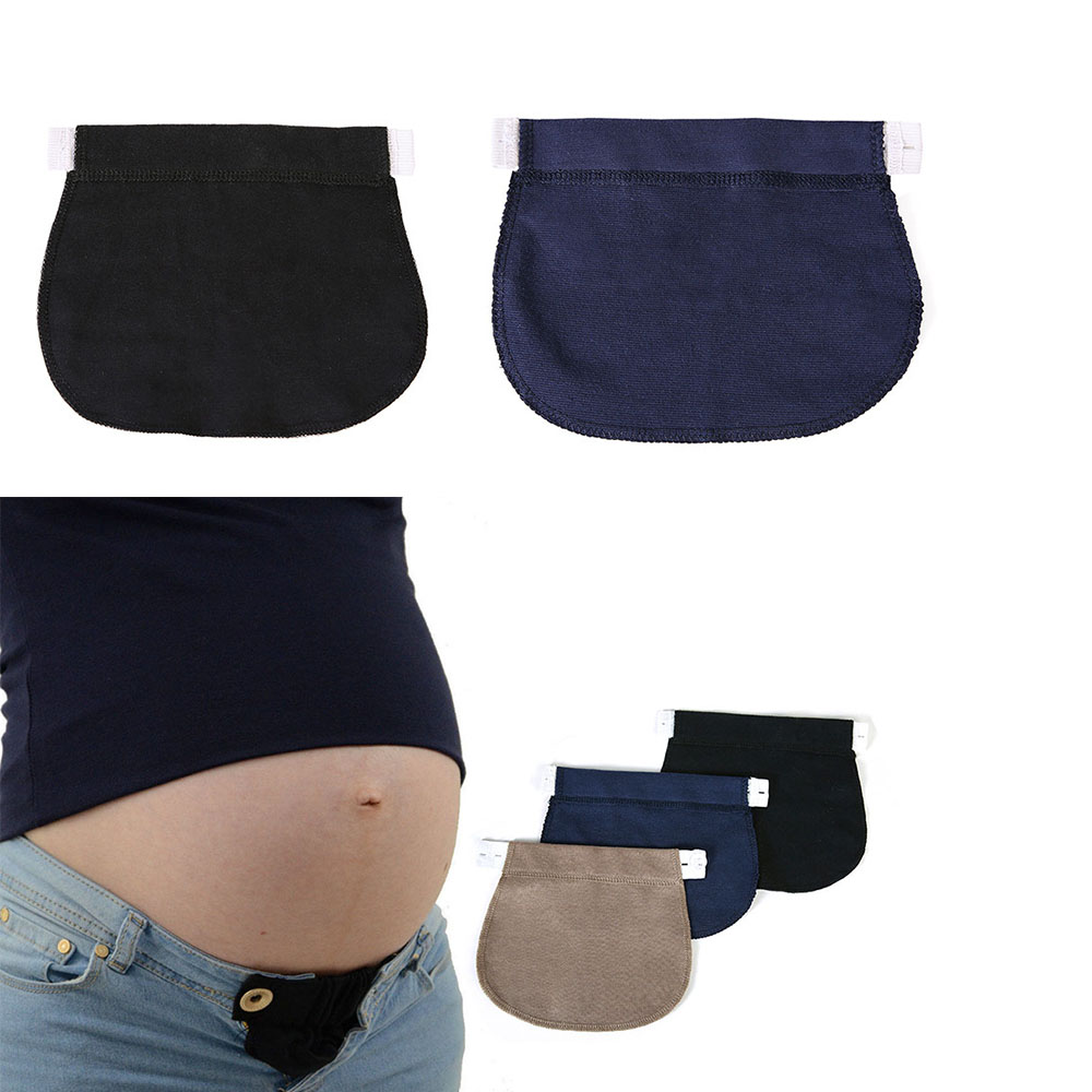 1 Pcs Adjustable Elastic Maternity Pregnancy Waistband Belt  Waist Extender Clothing Pants For Pregnant Sewing Accessories