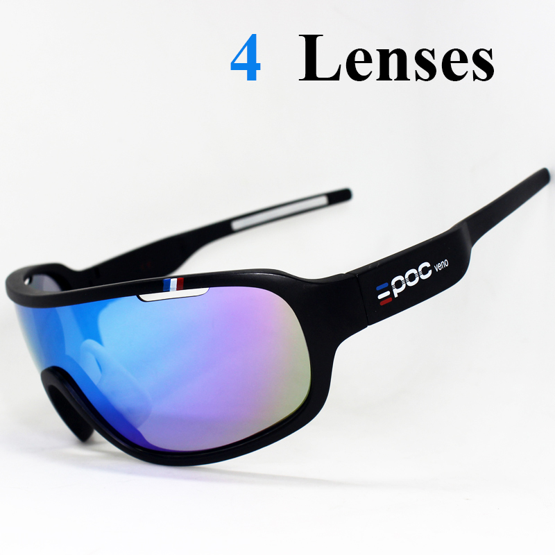 Cycling-Glasses Bicycle-Eyewear Poc Crave Mtb Mountain-Bike 4-Lenses Outdoor Sport Women title=