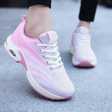 Sneakers Tennis-Shoes Tenis Feminino Female Breathable Woman Mesh Gym Sock Platforms