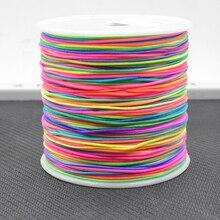 Шнур нейлоновый для ювелирных изделий «сделай сам», 0,8 мм, 100 ярдов