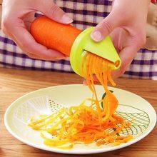 Spiral Shred Process Device Cutter Slicer Peeler Vegetable Cutter Graters Kitchen Tool Spiralizer Cutter Graters Kitchen Tool^*^