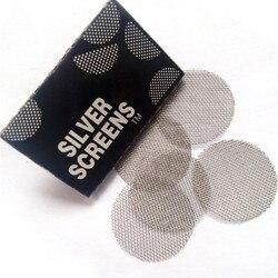 100 sztuk wielofunkcyjny szisza fajka wodna metalowy filtry ze stali nierdzewnej sitko do fajek do palenia akcesoria do palenia arkusz materiałów eksploatacyjnych
