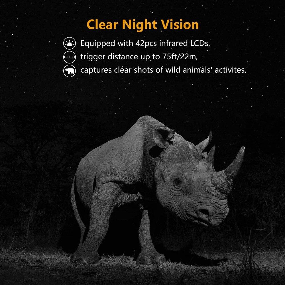 s400 20mp infravermelho wildlife câmeras à prova