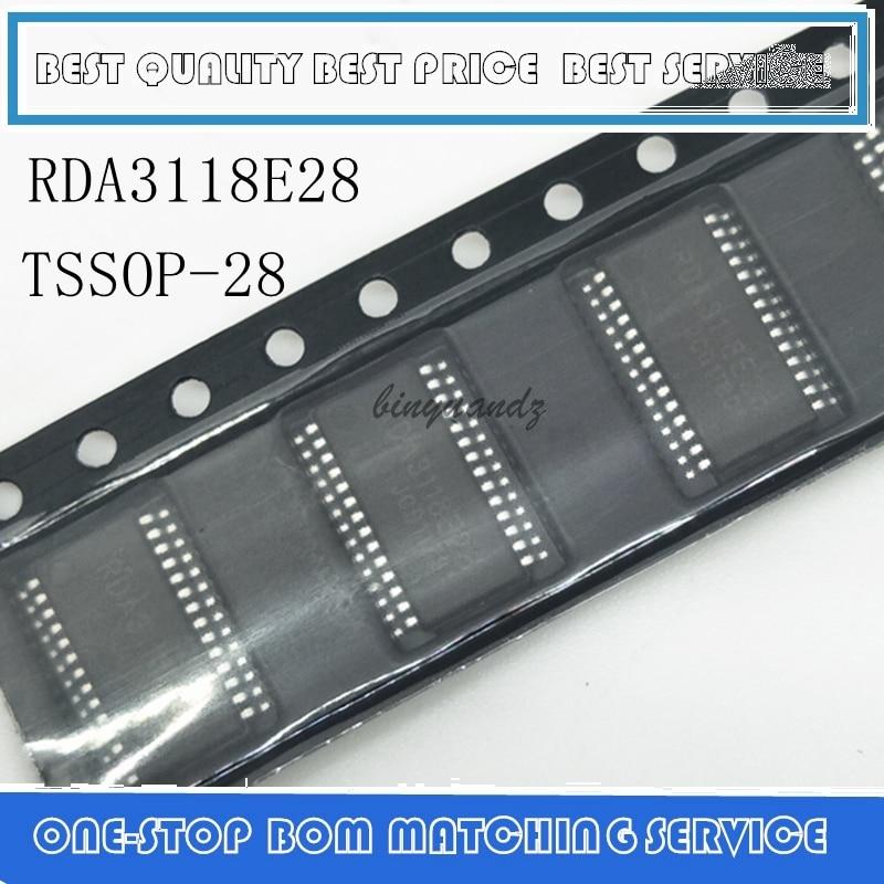 5PCS~10PCS RDA3118 RDA3118E28 TSSOP-28