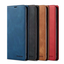 10Piece/lot For Samsung Galaxy A50 Case FORWENW Magnetic Phone Cover Wallet Flip Leather Stand