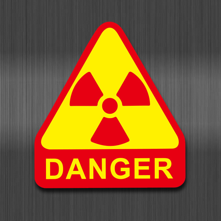 Danger Warning Signs Stickers For Laptop Motorcycle Luggage Bike Guitar Home Decor DIY Banning Reminder Funny Sticker