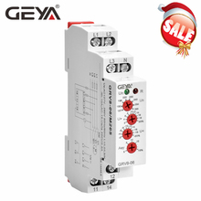 цена на GEYA GRV8-06 3 Phase Failure Phase Sequence Voltage Monitoring Relay Voltage Sensing Protection Relay 460V
