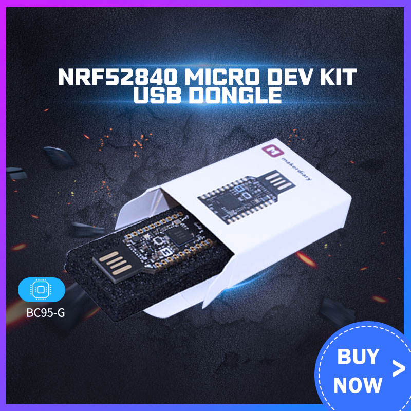 New! NRF52840 Micro Dev Kit USB Dongle