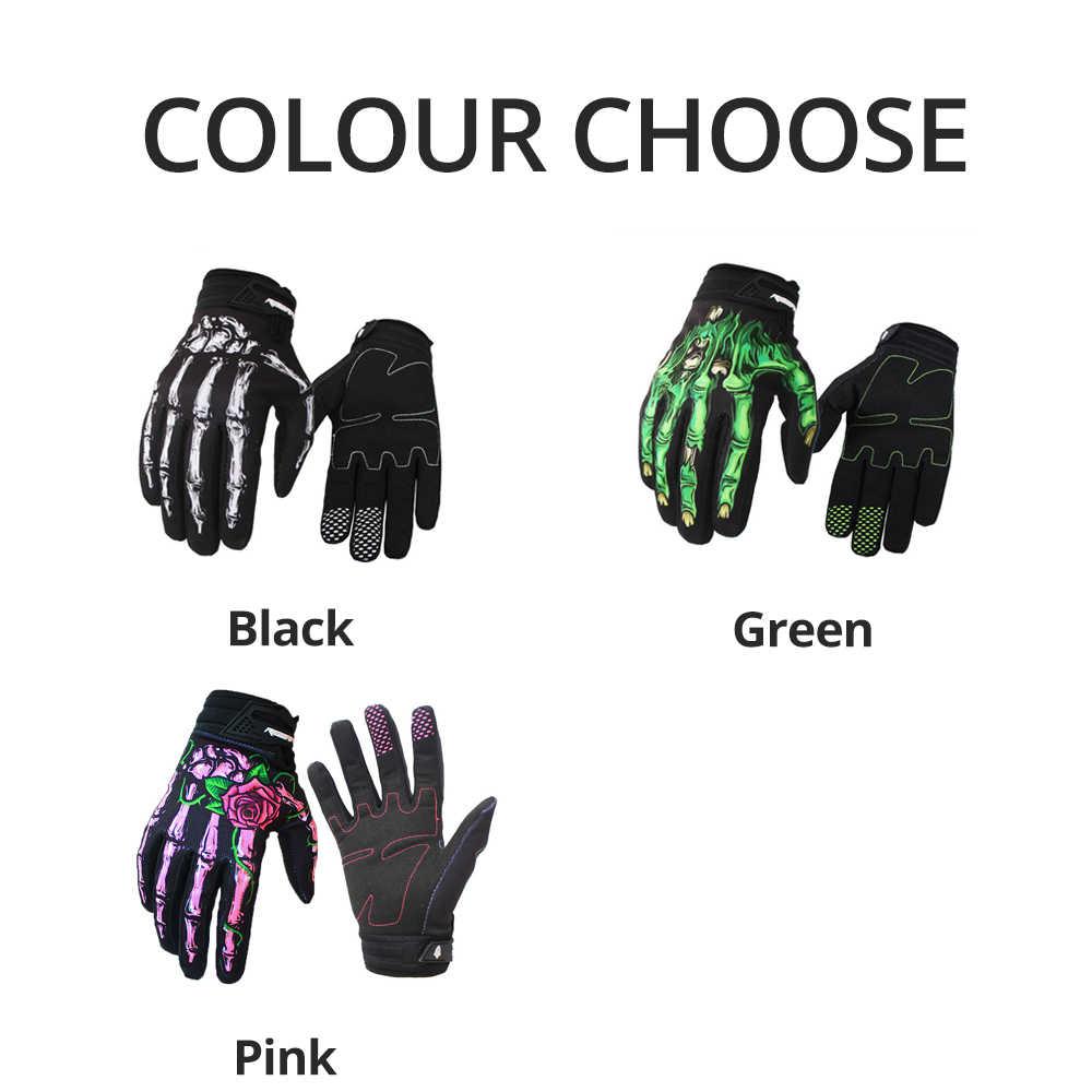 Rigwarl ถุงมือ Joint การพิมพ์ขี่มอเตอร์ไซด์ Touch หน้าจอ Motocross สกปรกจักรยาน MTB ขี่จักรยานถุงมือ GANT Moto ถุงมือ