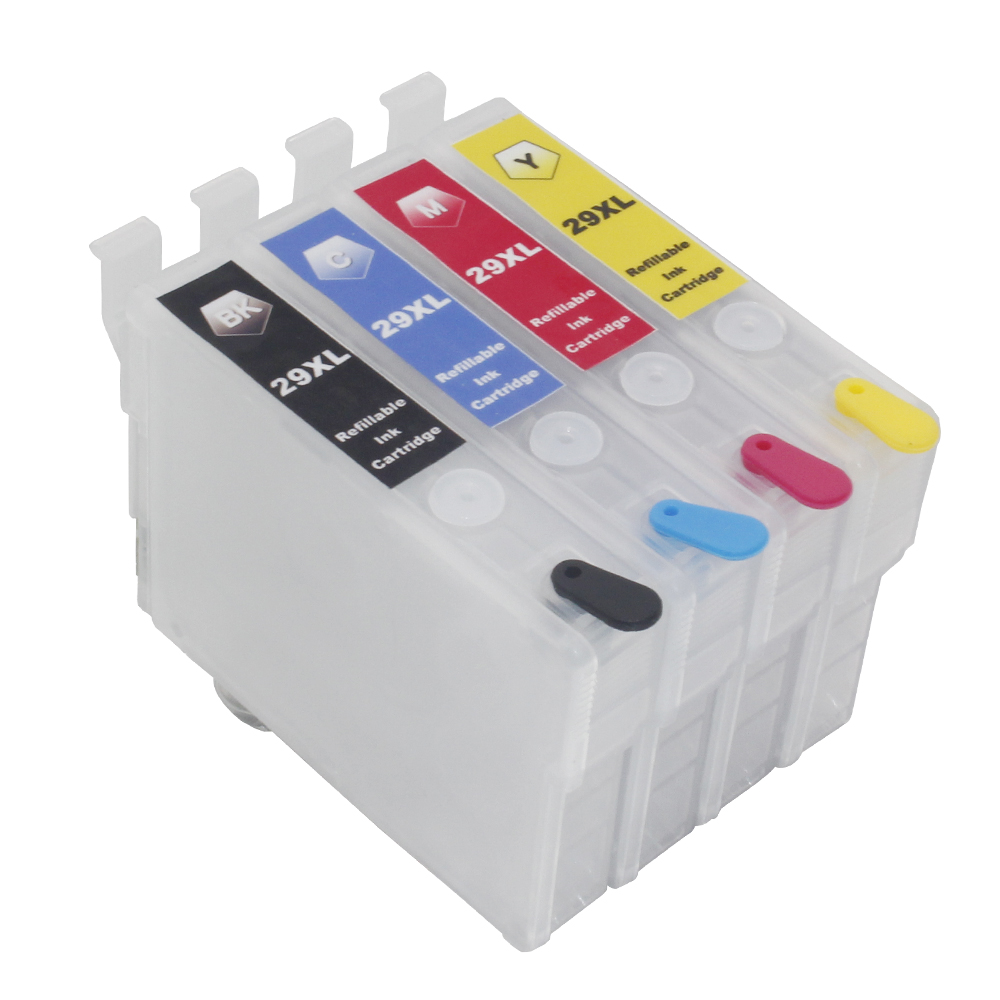 10SETS 29XL T2991 -T2994 Refillable ink cartridges with auto reset chips for <font><b>Epson</b></font> XP342 <font><b>XP345</b></font> XP442 XP445 xp-445 xp-345 xp-342 image