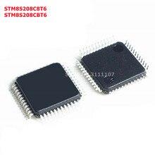 STM8S208C8T6 STM8S208CBT6 LQFP48 32-bit microcontroller chip