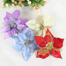 Christmas Decorations Supplies Tree Hanging Flowers Ornaments Decoration Xmas Decor Navidad 2019 2020