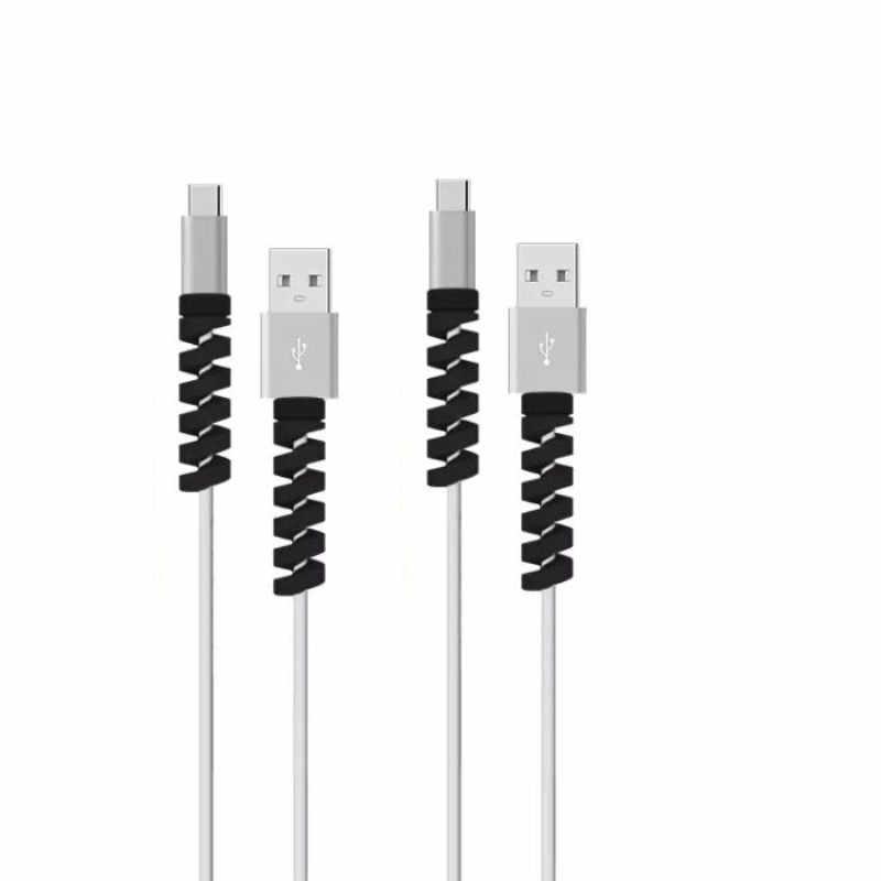 1Pcs Pengisian Kabel Pelindung Saver Cover untuk Apple iPhone USB Charger Kabel Cord Menggemaskan Pelindung Lengan untuk Telepon Kabel