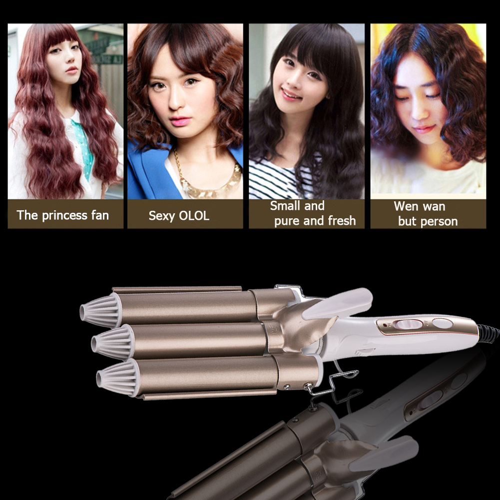 varinha modelador cabelo elétrico estilo