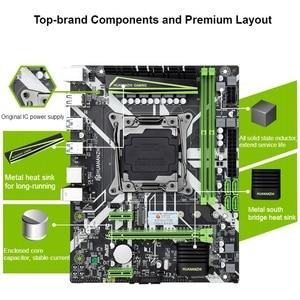 Image 3 - HUANANZHI X99 8M 마더 보드 슬롯 LGA2011 3 USB3.0 NVME M.2 SSD 지원 DDR4 REG ECC 메모리 및 Xeon E5 V3 V4 프로세서