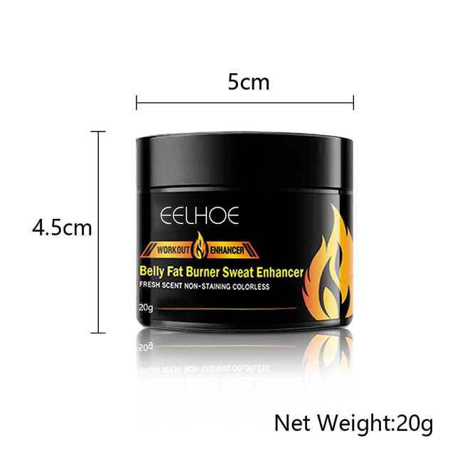 20g Abdominal Muscle Cream Anti Cellulite Slimming Fat Burning Cream Body Firming Strengthening Belly Muscle Tightening 2