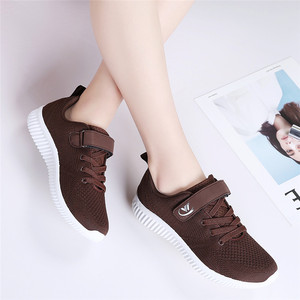 Image 2 - PINSEN Autumn Fashion Women Sneakers Flats Shoes Female Casual Lace up Breathable Mesh Sneakers Basket Femme Ladies Shoes