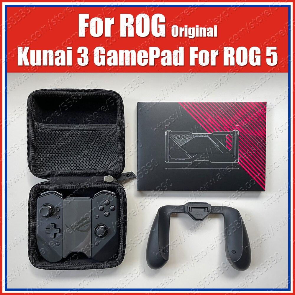 Оригинальный геймпад ZS661KSCL ROG 5 Kunai 3 для ASUS ROG Phone 5, контроллер, выдвижной чехол, игровой джойстик с игровой ручкой