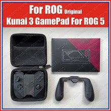 Zs661kscl original rog 5 kunai 3 gamepad para asus rog telefone 5 controlador slide para fora caso joystick do jogo com punho do jogo
