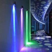 Cor cúbica interior led lâmpada de parede de alumínio lâmpada de parede moderna decoração para casa iluminação 3 w/6 w 85 265 v banheiro ktv corredor Luminárias de parede     -