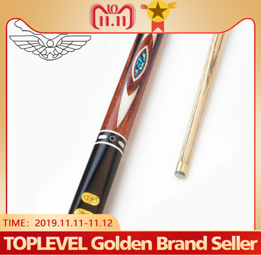 LP DREAM 3/4 Piece Snooker Cue One Billiard Stick with Case Extension North American Ash Shaft 10mm Tip