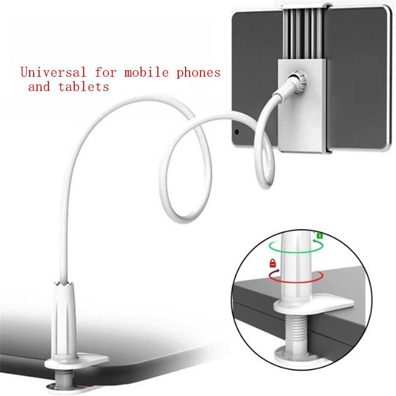Mobile Phone Stand For Bed For Desk Stents Flexible Clip Bracket Flexible Phone Holder Support Bureau For Phone Tablet Desktop
