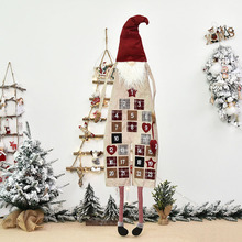 Calendar Hanging-Decoration Christmas-Advent Home Festival Planning-Supplies Office Cute