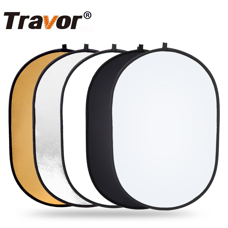 Travor Photography Background Backdrop Kit 5 Colors 24''x35'' Multi Collapsible Reflector Tape For Photo Studio Photo Background