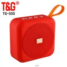 TG505 Falante Ao Ar Livre Sem Fio Mini Speaker Portátil Bluetooth Speaker Mini Caixa de Som Speaker FM Cartão TF